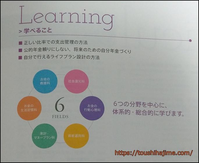 お金の教養スクールカリキュラム
